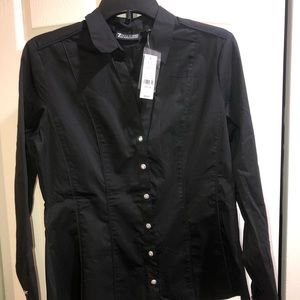 NWT New York and Company Button Down Blouse